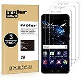 ivoler [3 Pack] Pellicola Vetro Temperato per Huawei P10 Plus [Garanzia a Vita], Pellicola Protettiva, Protezione per Schermo
