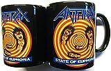 Anthrax State of Euphoria Black Boxed Mug [Import anglais]