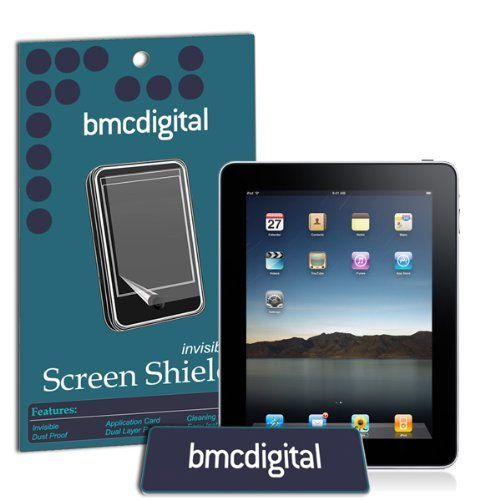 Apple iPad Mini Invisible Screen Protector / Guard - Ultra Clear (Comes with Applicator and Anti-static Wipe) (Single) Screen Protector Single