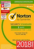 Norton Security Standard Antivirus Software 2018 / Zuverl�ssiger Virenschutz (Jahres-Abonnement) f�r 1 Ger�t / Download f�r Windows (u.a. Vista, 8 & 10), Mac, Android & iOS Bild