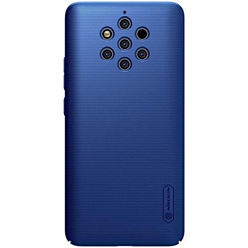 """XMTON Nokia 9 PureView 5.9"""" Custodia,Super Shield Shell Ultra Sottile Duro PC Cover Anti-graffio Anti-Scivolo Protettiva Case + 1 Pack Kickstand per Nokia 9 PureView Smartphone (Blu)"""