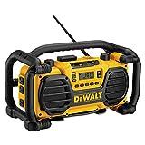 DEWALT DC012 7.2-Volt-18-Volt Heavy-Duty Worksite Radio Charger