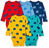 #2: Marks & Spencer Baby Boys' Sleepsuit (Pack of 5) (T786620MULTI_9-12M)
