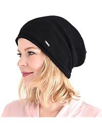 Casualbox 100% Silk Beanie Natural Chemo Hat Sensitive Skin Oversized Slouchy