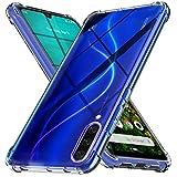 Ferilinso Hülle Kompatibel mit Xiaomi Mi A3, [Version mit Vier Ecken verstärken] [Kamerapflegeschutz] Stoßfeste, weiche TPU-Silikonhülle aus Gummi für Xiaomi Mi A3 Hülle (Transparent)