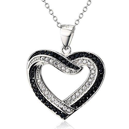 deux-tons-argent-sterling-925amour-infini-pendentif-en-forme-de-cur-avec-cz-collier-pour-femme-457cm