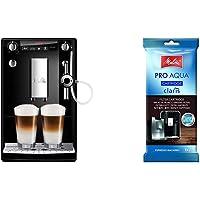 Melitta Caffeo Solo & Perfect Milk E957-101 Schlanker Kaffeevollautomat mit Auto-Cappuccinatore | Schwarz & 192830…