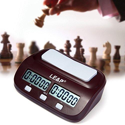 neuen Sprung Digital Schach Uhr I Count Up Down Timer für für chinesische Schach, international Chess und I