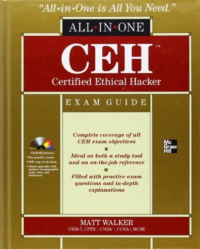 CEH Certified Ethical Hacker All-in-One Exam Guide by Walker, Matt (2011) Hardcover
