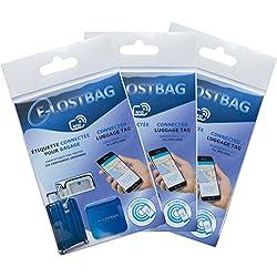 Système de puçage électronique pour Bagage-x3- RFID/NFC - Compatible avec toutes les compagnies aériennes