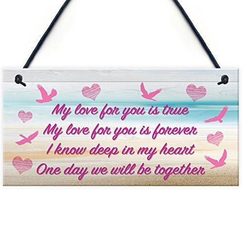 Monsety Zum Aufhängen Vorlagen für Haus Funny Holz Schilder mit Sprüche Love für Sie Memorial Loving Memory Heaven Geschenk Familie Gedicht Schild Tür Schilder