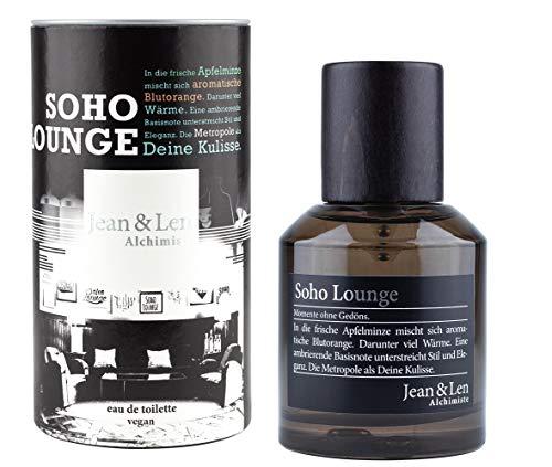 Jean & Len Jean & len herrenduft soho lounge parfüm für herren eau de toilette duftnoten: verführerisch geheimnisvoll elegant klassisch 50 ml 1 stück