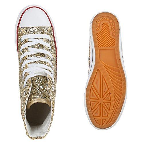 Atam Ouro Desportivos Brilhante Pano Sapatilhas Culto Sapatos Senhoras vqRXYXF