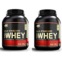 Optimum Nutrition Gold Standard Whey Protein Powder, Chocolate Mint, 2.27 kg, Twin Pack