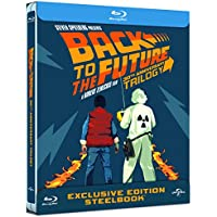 Back to The Future Trilogy - Limited 30th Anniversary Edition Steelbook Boxset Blu-ray