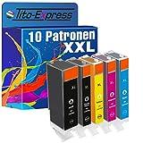 PlatinumSerie® 10x Druckerpatrone kompatibel für Canon PGI-570 XL & CLI-571 XL Pixma TS 5050 TS 5050 Series TS 5051 TS 5053 TS 5055 TS 6000 Series TS 6050 TS 6050 Series TS 6051