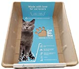 CatBioBox Einweg Katzentoilette, 4trays Set