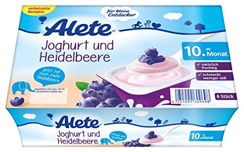 Alete Minis Joghurt und Heidelbeere, 8er Pack (8 x 300 g)