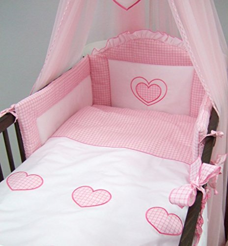 5 Piece Baby Cot / Bed Bedding S...