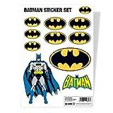 Batman Autocollant Sheet classic logo nouveau officiel DC Comics A4 set