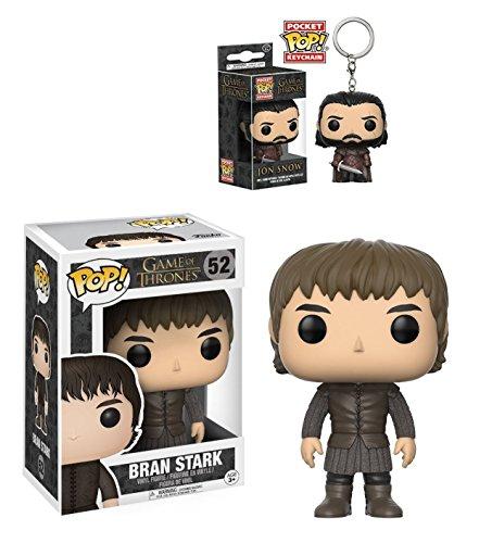 Funko POP! Game Of Thrones: Bran Stark + Jon Snow Pocket POP! - Vinyl Set NEW