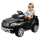 COSTWAY Elektro Kinderauto Lizenz Mercedes-Benz ML350 Elektroauto Kinderfahrzeug Elektrofahrzeug mit Fernbedienung