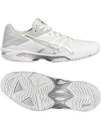Asics Gel-Solution Speed 3, Zapatillas De Gimnasia para Hombre, Blanco