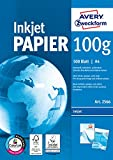 Avery Zweckform Kopierpapier (A4, 100 g/qm, 500 Blatt) weiß, 5er Pack