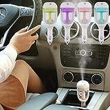 HEPA-FIL Air Humidifier Car Plug Humidifier Air Purifier Freshener (Design & Colour May Vary)