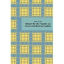klein & fein Rätsel für die Tasche 29: Kreuzworträtsel im Quadrat