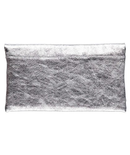 Abro Ladies Clutch Mimosa Argento