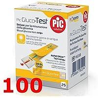 pic glucotest - 100 Streifen reaktive für die Kontrolle der Blutzucker - gluco Test preisvergleich bei billige-tabletten.eu