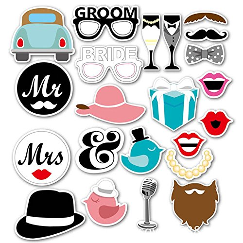 �rste/Set Lady Thema Funny Photo Booth Requisiten, Creative Hochzeit Decor, Papier Crafts Ereignisse Geburtstag Party Supplies (Kunststoff Party Drinkware)