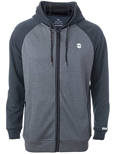 Rip Curl Train Vapor Fleece, Man Color: Grey Marle grey marle