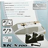 Green Valley 811700 Porte-Skis Magnétique Paraboliques SKX 700 2 Paires