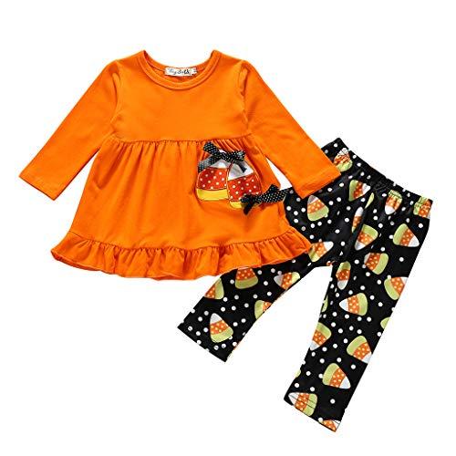 aiyvi Baby Mädchen Bekleidungssets,1-5 Jahre 2 Stück