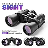 Premium 10 x 50 Binoculars With BK4 Prism For Bird Watching Safari Sightseeing Football & Festival | Fully Multi-Coated Lens For Hunting Sports Wildlife Traveling&Hiking | Waterproof & Portable Desing
