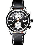Relojes Hombre Reloj de Pulsera Militar Cronógrafo Impermeable Deportes Diseñador Reloj Hombre Luminosos Negocios Analógico
