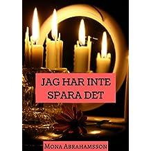 Jag har inte spara det (Swedish Edition)