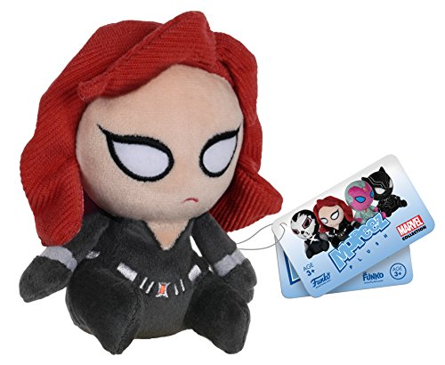 Funko - Peluche Marvel Civil War - Black Widow Mopeez 11cm - 0849803086206