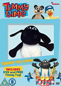 Timmy Time - Timmy The Train - with Timmy Plush [DVD]