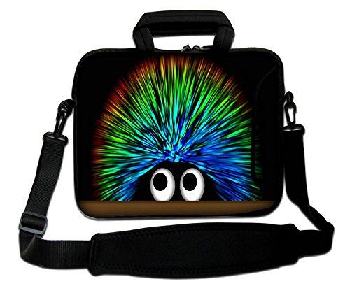 Luxburg Schultertasche Notebooktasche Laptoptasche Tasche mit Tragegurt aus Neopren für Laptop/Notebook Computer 15,6 Zoll