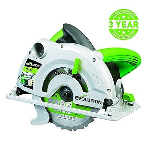 Evolution FURY1-B Multi-Purpose Circular Saw, 185 mm (230V)