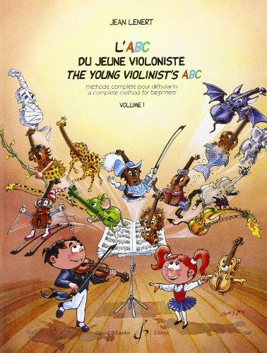 L'ABC du Jeune Violoniste Volume 1 - Bilingue par Lenert Jean