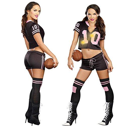 TYERY Baseball Kleidung American Football Cheerleader,Fig.,Einheitsgröße