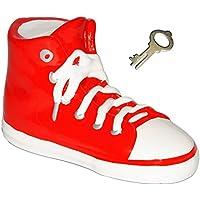 Preisvergleich für alles-meine.de GmbH 3-D Effekt _ Spardose - Schuh Sneaker / Sportschuh - Schuh - Rot - Incl. S..