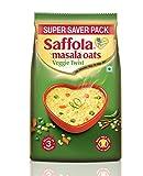 #7: Saffola Masala Oats Veggie Twist Pouch - 400 g