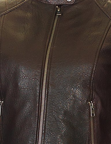 Oakwood Women's Gum Women's Burgundy Leather Jacket 100% Leather Burgundy
