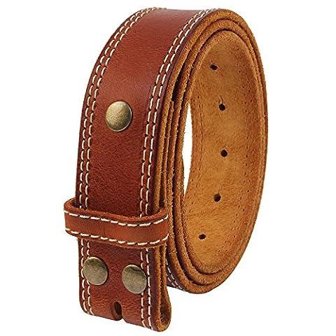 NPET BZ050 Mens Full Grain Leather One Piece Handmade Business