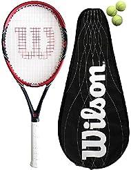 Wilson Pro Limited BLX - Raqueta de tenis con funda
